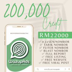 WAZUP ADS : STANDARD- C 200,000 CREDIT (CORPORATE PACKAGE)
