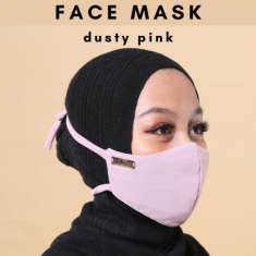 Face Mask - Dusty Pink