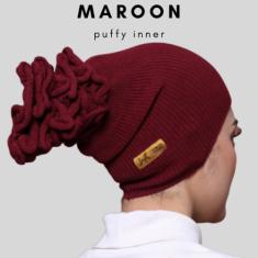 Puffy -  Maroon