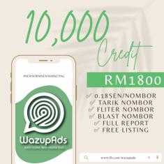 WAZUP ADS : PLATINUM 100,000 CREDIT