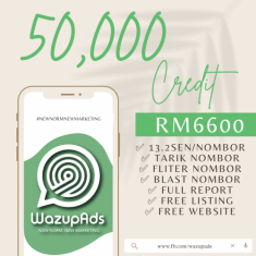 WAZUP ADS : BASIC-C 50,000 CREDIT