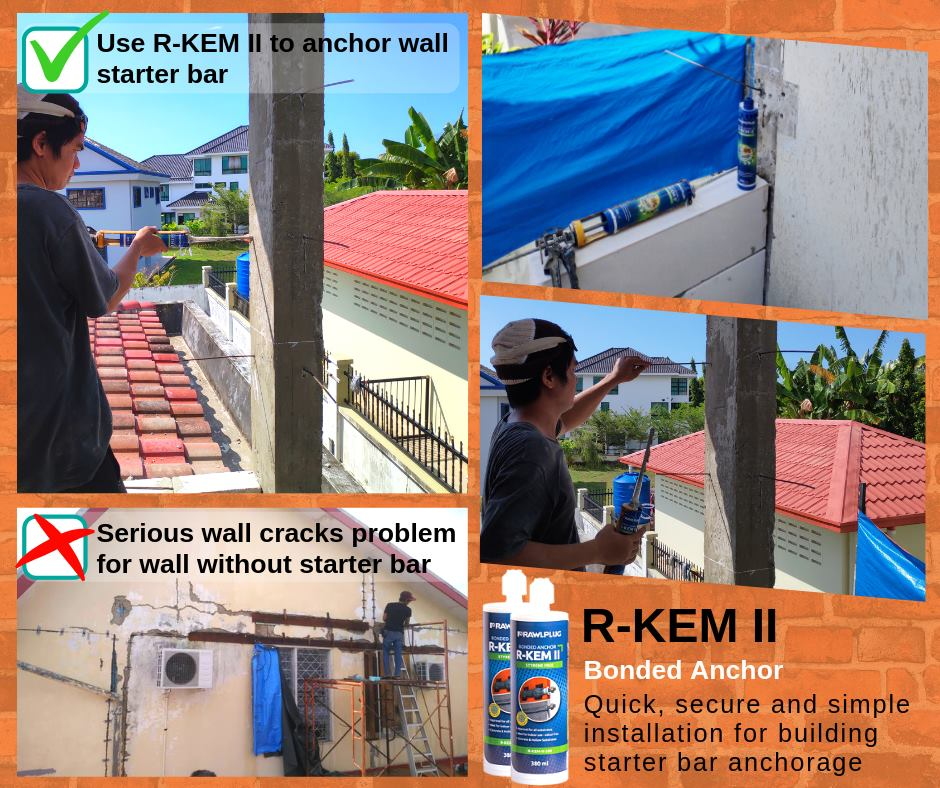 RAWLPLUG R-KEM II PROJECT REFERENCE