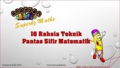 Arayyan Kids EBOOK 16 Teknik Rahsia Pantas Sifir Matematik