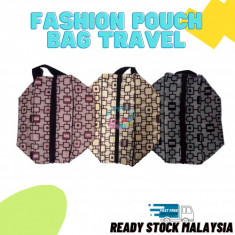 Fashion Pouch Bag for Travel with Side Handle