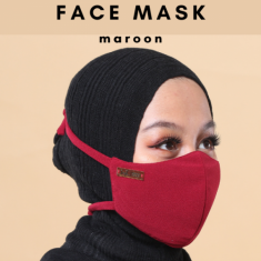 Face Mask - Maroon