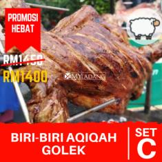 BIRI-BIRI AQIQAH GOLEK SET (C) PROMOSI HEBAT