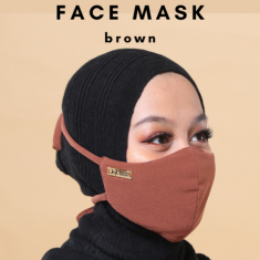 Face Mask - Brown