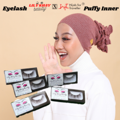 Combo Lily Khay Beauty Eyelash & HFT Puffy Inner
