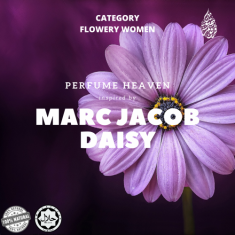 INSPIRED BY MARC JACOB DAISY BY PERFUME HEAVEN