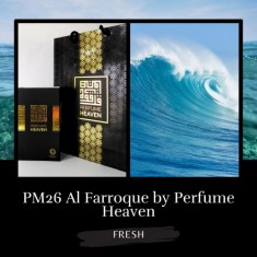 30ml (PM26) AL FARROQUE MEN BY  PERFUME HEAVEN