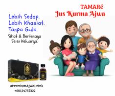 TAMARë PREMIUM AJWA DRINK (120mlx 4 bottles)