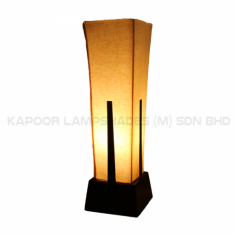 Custom made table lamp