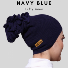 Puffy -  Navy Blue