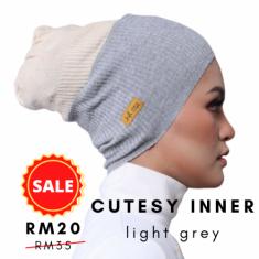 Cutesy -  Light Grey