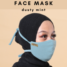 Face Mask - Dusty Mint