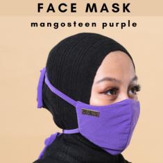 Face Mask - Mangosteen Purple